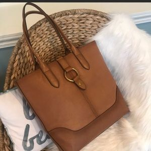 💥NEW never carried Frye brown leather tote